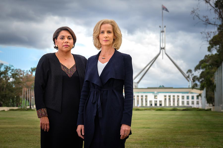 G.Deborah Mailman as ALEX & Rachel Griffiths as RACHEL - Total Control