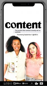 New ABC made for mobile show - Content