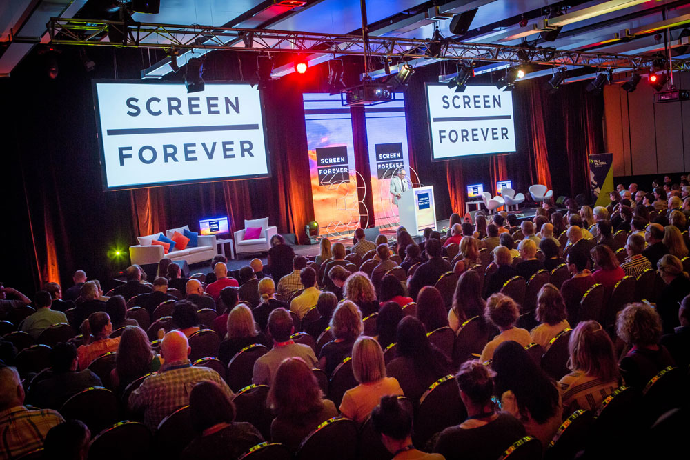 Audience at SCREEN FOREVER