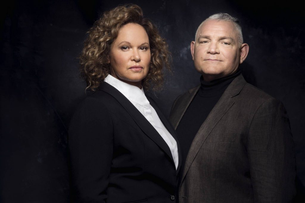 Leah Purcell and Bain Stewart